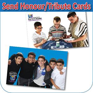 tribute card